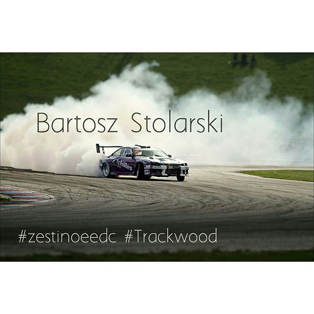 Polish #beast of a #car and friendliest dude driving it - Bartosz Stolarski, he won last year our final in #Brno. it will be his #firsttime in #rabocziring, they say his #lsv8 #turbo #s14 can hide in a cloud of smoke entire small town for a month with a single burnout... #1000hp #driftcar #Zestino #ZestinoEEDC #zestinotrackwood #EEDC #eedc2015