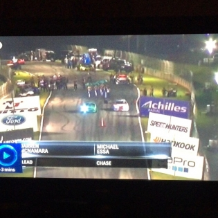 Remember when we used do this drifting thing guys? We didn't do too bad... @formulad on tv tonight @jonathonbradford @instabigsteve @chrismarion23 @chriseimer @shayalexander_1986 @kattrainer @falkentire