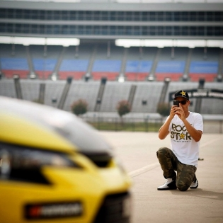 Say cheese! More photos at my Facebook page - link in profile. (@larry_chen_foto for @scionracing)
