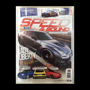 Speed&Sound magazine from South Africa! Our South Africa distributor Race! done LB Works GTR!!