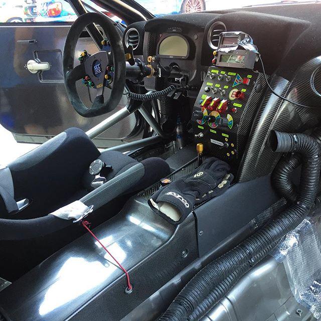 The cockpit of the Nismo GTR I posted earlier, carbon fiber everywhere! Such a badass car... #nissan #nismo #gtr