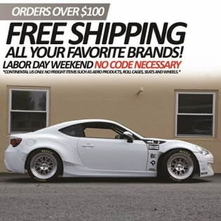 @enjukuracing is offering FREE SHIPPING on all orders over $100 or more throughout the weekend. Check the flyer for more details and head to #enjukuracingdotcom.