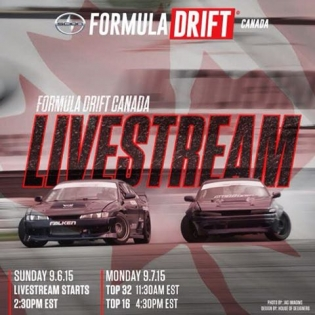 @formulad Canada's World Round will be live on eversport.tv starting tomorrow. Link to the feed is in my bio, times are listed above. @formuladriftcanada