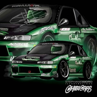 Amazing! Thanks for doing the S14! @chibicars