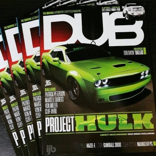 DUB Magazine!!! LB WORKS CHALLENGER ON COVER