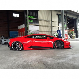 First LB★WORKS HURACAN completed!! @forgiato