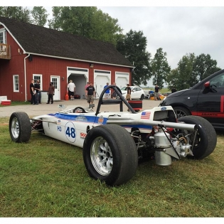 This little Ford at @virnow looks like a good time. The owner said he bought it in 1985 for $3500!