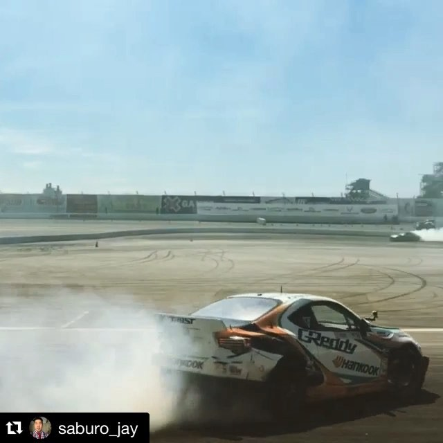 @kengushi in action earlier today during Thursday Practice. @greddyracing X @hankookusaracing X @scionracing FR-S Follow @boost_brigade, the 2015 Fall Collection drop Friday