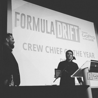 Congrats to our crew chief @garretnuts. He has put in so much hard work and dedication for years. Couldn't do it with you. Proud of you  #getnuts #getnutslab #garretnuts #FormulaD #awards