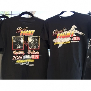 "Don't forget to swing by the Official Formula Drift Merchandise to pick up the ""Final Fight"" t-shirts. #fdirw #formulad #formuladrift"