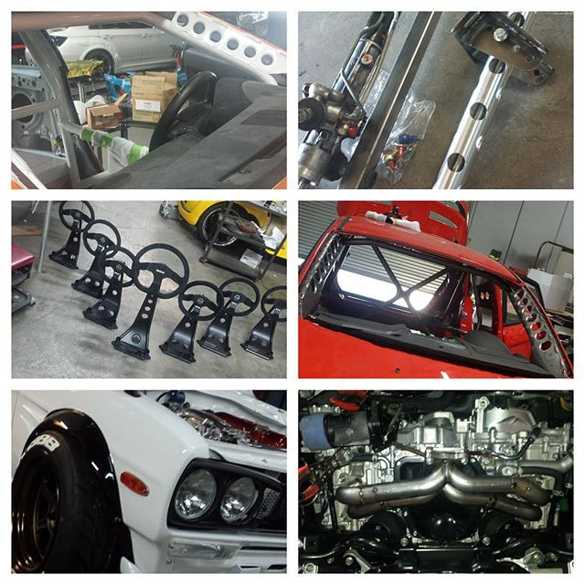 Last SEMA project left last night. Can't say I had one big project but I can definantly say I had my hands in a lot of everyone elses. Check out some of my fab work if you are at the show. Mackin Industries booth (Pikes Peak FRS, Drift S14), DSPORT booth (World Challenge Ford Fiesta, Evasive time attack S2000), Scion booth (Tuner Challenge trophies), Grand Turismo trophies, Toyo Tire hallway (Chasing Js Datsun 1200) DC Sports booth (Subaru WRX) Lexus booth (Rocket Bunny Lexus RCF)