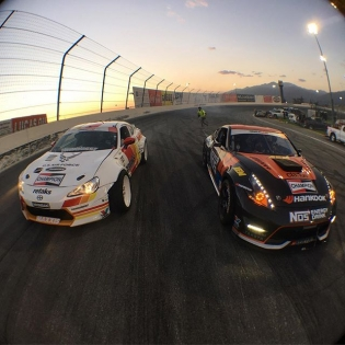 My @thehoonigans teammate @chrisforsberg64 and I ready to #killalltires yesterday at #FDIRW during our test session.  @jacobchills @olloclip #4in1 #imagesspeaklouder