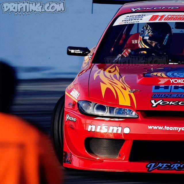 Nobuteru Taniguchi 2004 D1GP Irwindale Photo by alex (2003-2005 Pro-Drifting in the U.S.A.)