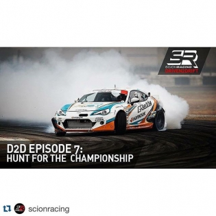 #Repost @scionracing. ・・・ @kengushi & @Fredricaasbo are about to go into the biggest fight of their lives next week at the @formulad final. The team talks about how the season has come together in the latest episode of Driven2Drift. Watch now at www.scionracing.com or click the link in the @scionracing profile.