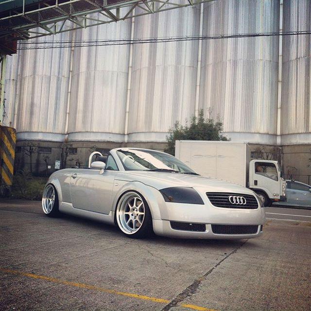 Shooting Car Factory M2 Audi Tt On Work Seeker Ex Now F18x10j15mm