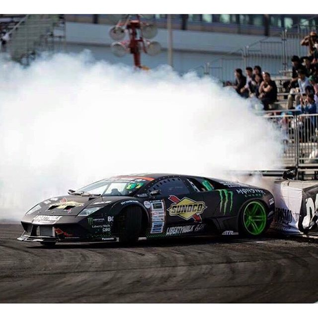 The World's First Lamborghini Drift Car from MonsterEnergy & LibertyWalk & Daigo Saito︎