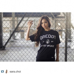 The beautiful Sara Choi will be joining us in Launching the 2015 #boostbrigadebygreddy. Find us at the @greddyracing pits ・・・ #Repost @sara.choi @BOOST_BRIGADE Apparel by @greddyracing launching this Friday at Irwindale Formula D! Don't forget to stop by and cop some gear from me!!