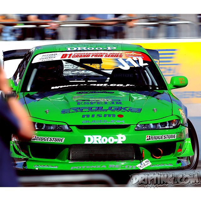 Yasuyuki Kazama 2004 D1GP Irwindale Photo by alex (2003-2005 Pro-Drifting in the U.S.A.)