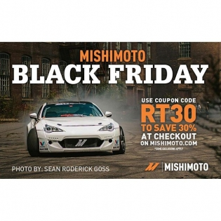 Black Friday deals are in progress. Check the flyer and click the link in my profile to get 30% off all @mishimoto parts. #Blackfriday