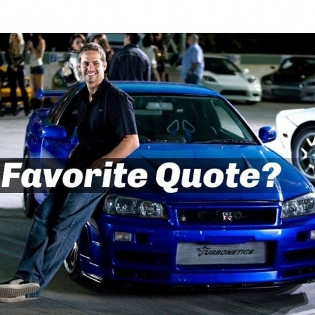 FAVORITE PAUL WALKER QUOTE ? (September 12, 1973 – November 30, 2013) PHOTO @PAULWALKER @FASTANDFURIOUSMOVIE  #paulwalker
