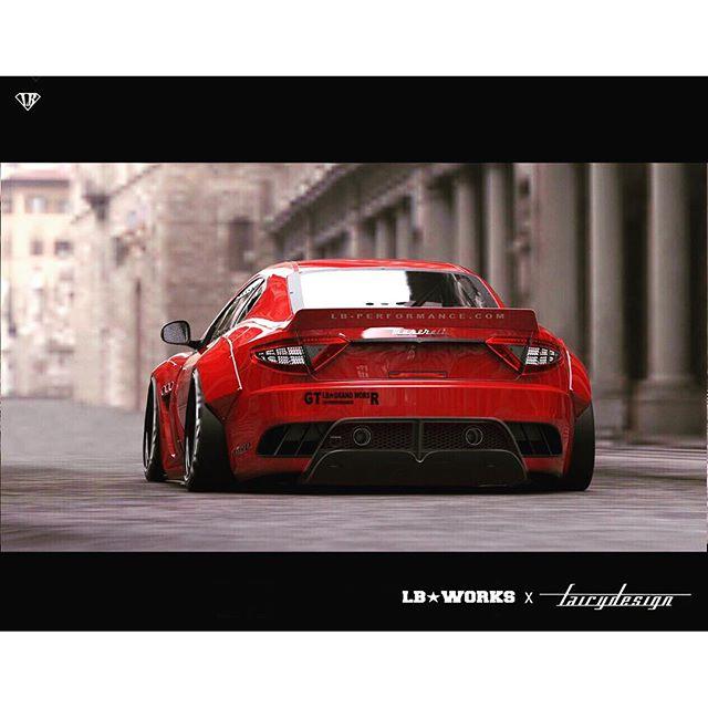 2015 Maserati Ghibli Head Gasket: Liberty Walk New Maserati Granturismo Coming Up