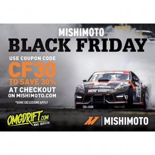 Mishimoto's Black Friday sale! Go to mishimo.to/chrisforsberg64 and use the coupon code CF30 at checkout to get 30% off of ANY automotive product from @mishimoto! Tell your friends!!!