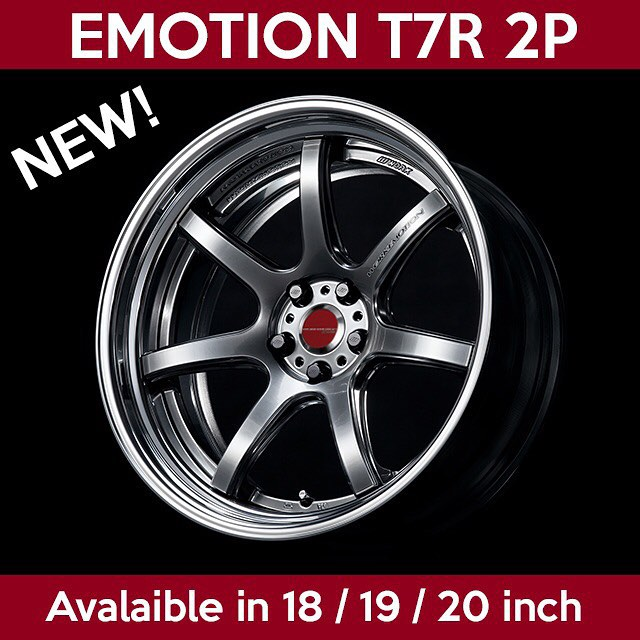 New comer to the WORK Emotion line up!!! Please welcome the T7R 2P!! We officially launched the wheel at the SEMA show today. You can come and check @dom_zee blue Nissan 370Z displayed at the feature tent for a closer look!