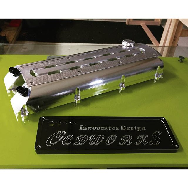 Ocdworks 2jz billet valve cover rear shot. Anyone who might look for deal. Email us at tuning@ocdworks.com for black friday sale.