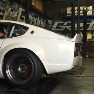 "One last dyno session for #theFuguZ before the Thanksgiving holiday break. Just 9000RPM @sungkangsta #RB26 The @BOOST_BRIGADE ""Gold Pack"" drops tomorrow on #ShopGReddy.com"