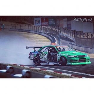 That one time @amandio55 flew by me at Fuji Speedway with only 3 doors. @driftlifemag