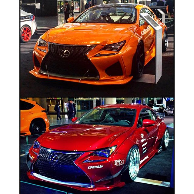 This time last year the GReddy equipped @lexustuned red RC with the kit was displayed in the main lobby by @lexususa. This year you can find another GReddy equipped @lexustuned project. This orange with aero kit by @trakyoto, built by @evasivemotorsports The @laautoshow is open to the public starting tomorrow. Go check it out!