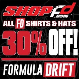 Visit www.shopfd.com 30% OFF ALL FD SHIRTS & HATS #formulad #formuladrift