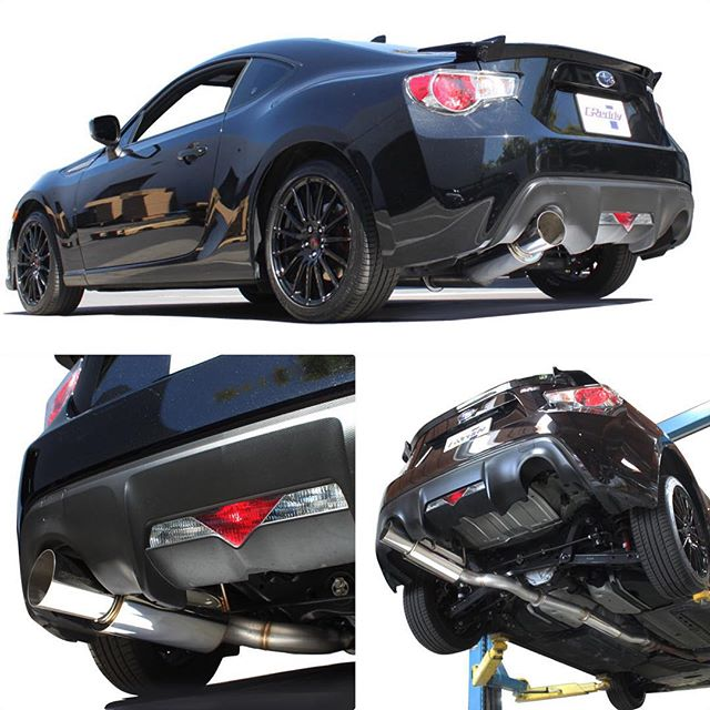 light-weight, large diameter cat-back exhaust back in-stock...