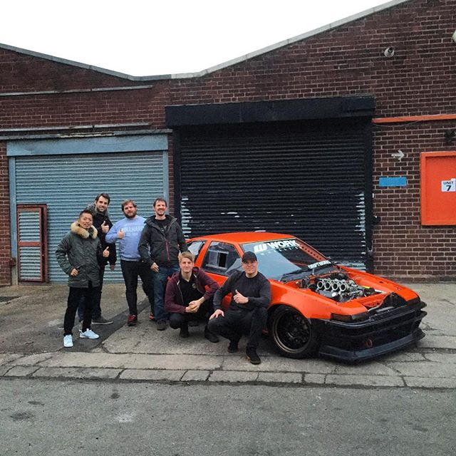 Visiting our UK distributor @workwheelsuk / @driftworks_ltd today! Always a pleasure to see you guys!!