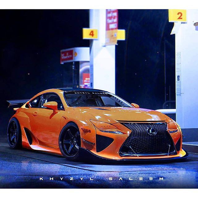 @the_kyza does it again. Based on my friend @lexustuned's @pandemusa @lexususa #RCF.