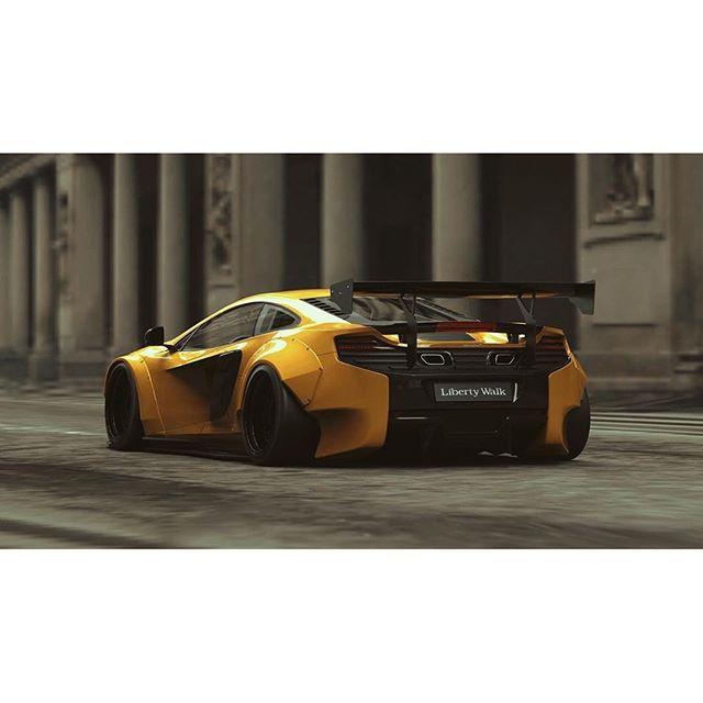 2016 Mclaren 570s Head Gasket: LIBERTY WALK自由に歩く★★★ NEW Design LB★WORKS McLaren 650S KATO