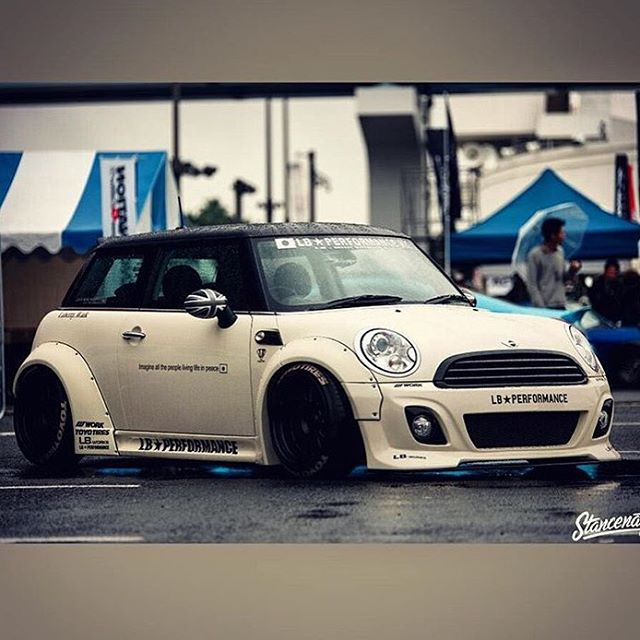 Liberty Walk Lbworks Mini R56 Japan Katos Custom Libertywalkkato