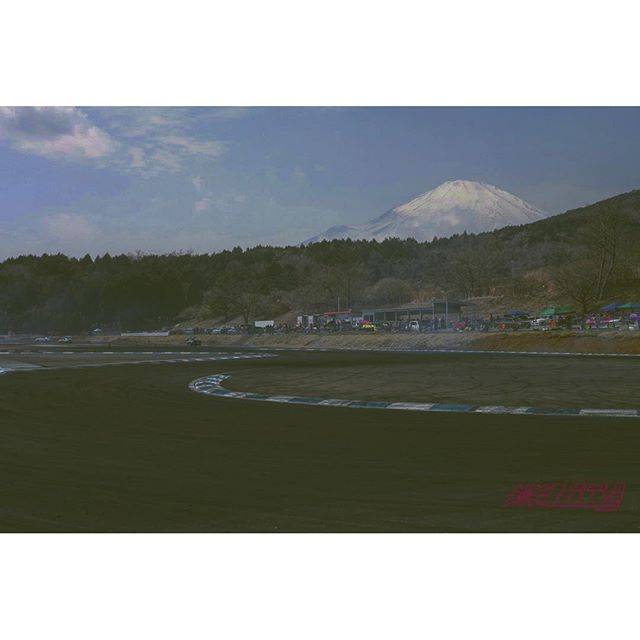 One of my favorite views from Drift Park at Fuji Speedway.