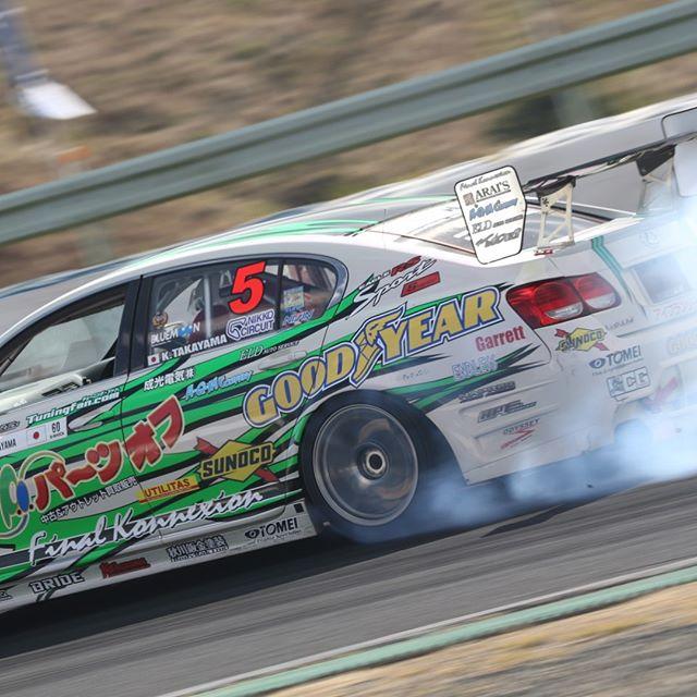 Takayama's Lexus @ Formula Drift Japan