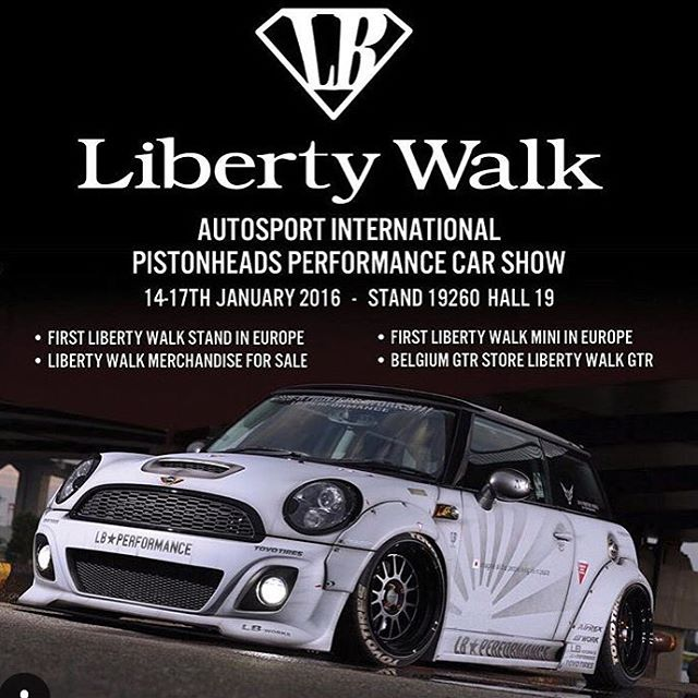 The First Liberty Walk Mini Cooper S Will Be Released At Autosport International Next Week