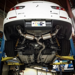 Arriving later this month the brand new #GReddy #EVOlutionGT exhaust for the #Mitsubishi Evolution 10. Pre-order yours this week at our introductory price plus free shipping (lower48)... #ShopGreddy.com or your favorite Authorized GReddy Dealer #EVOX #GReddyExhaust