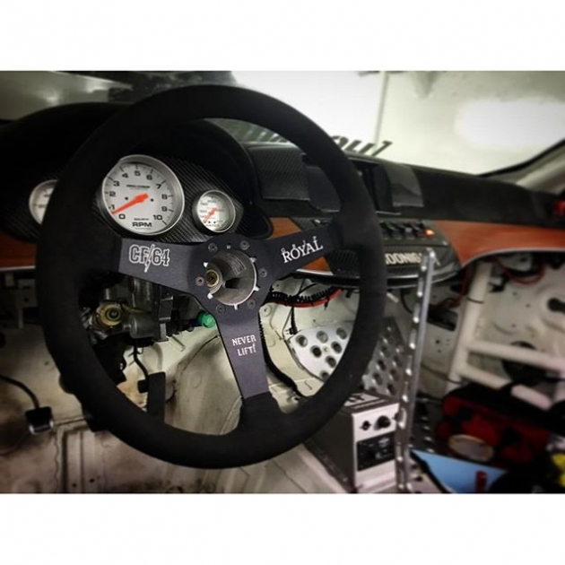 Bringing my M56 out of hibernation for an awesome project! My @griproyal wheel is back on sale at griproyal.com! Give yourself a fresh steering wheel for this season!