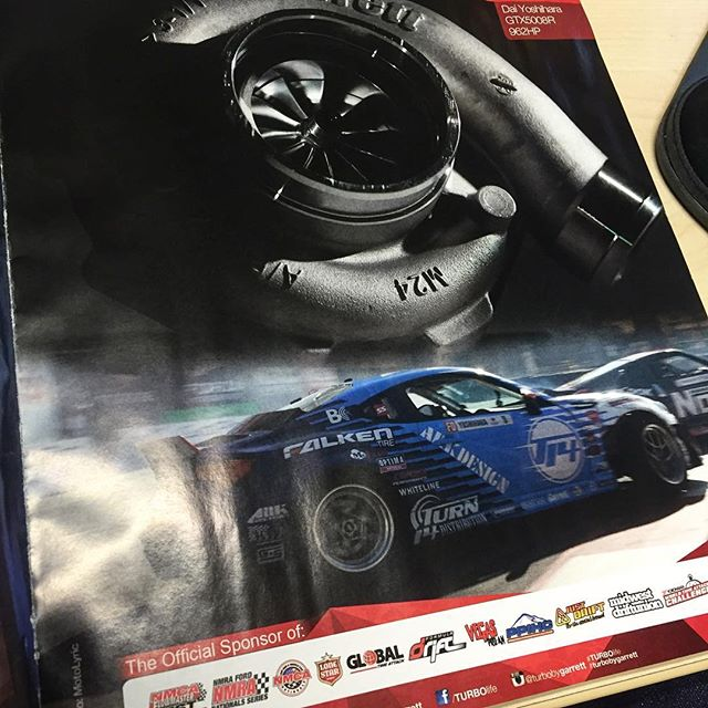 Caught a look at this new ad by @turbobygarrett in the new issue of @dsport  