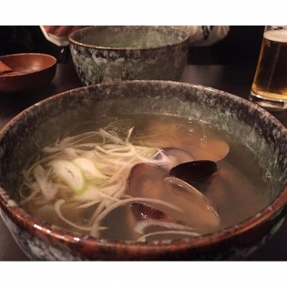 Clam ramen FTW! #貝汁ソバ #kobe #dai9