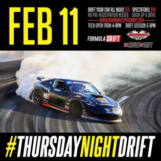 Join us this Thursday at Irwindale Speedway for Thursday Night Drift | #formulad #formuladrift #thursdaynightdrift