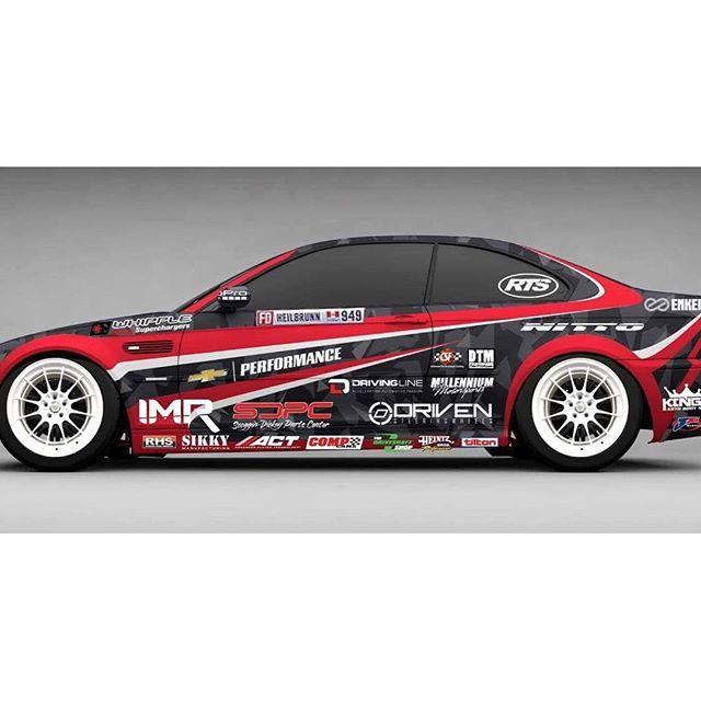 Team @rts_racetechservices @alexheilbrunn 2016 Formula DRIFT Livery Release |