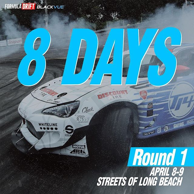 And counting for @formulad Long Beach |