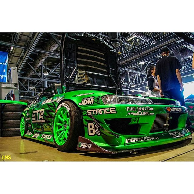 The S14 at LBGP for Super Drift. @project240sxracecar