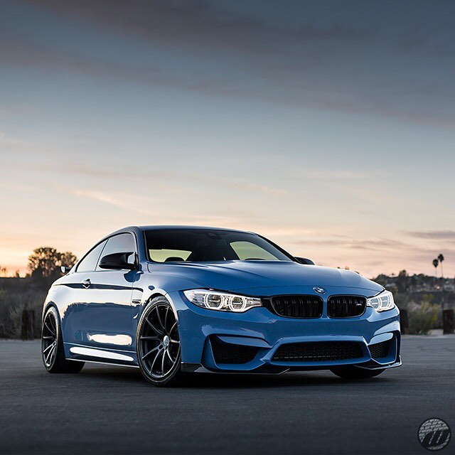 @workwheelsusa BMW M4 on new WORK Gnosis FMB01 forged monobloc