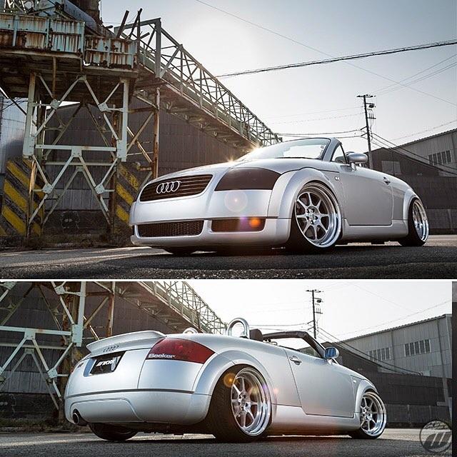 Car Factory M2 Audi TT on WORK Seeker EX F:18x10J +15mm / R:18x10.5J +15mm